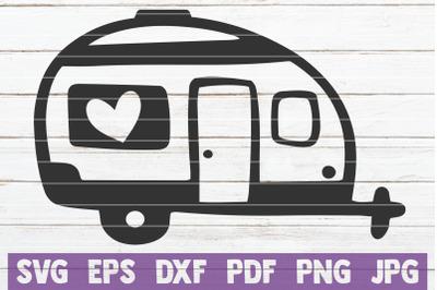 Camping Van SVG Cut File
