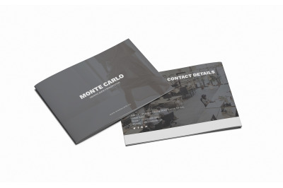 Monte Carlo Creative Brochure A5 Template