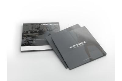 Monte Carlo Creative Agency Square Brochure Template