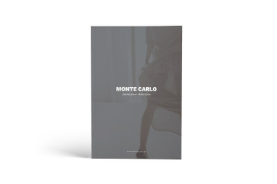 Monte Carlo Creative Agency A4 Brochure Template