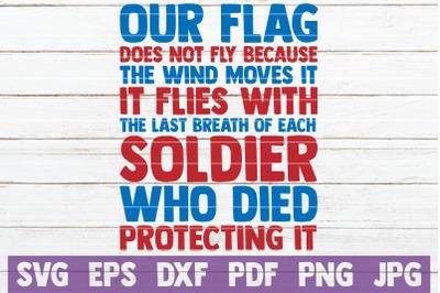 Our Flag SVG Cut File