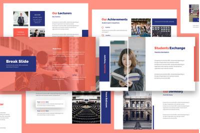 Academia Education Keynote Template