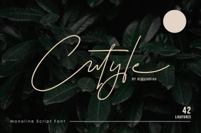 Cutyle signature