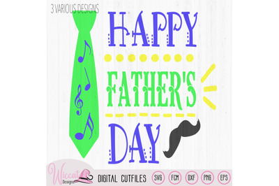 Happy Father's day svg, word art Quote
