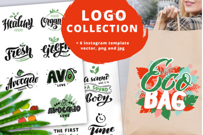 Logo & Lettering Eco collection