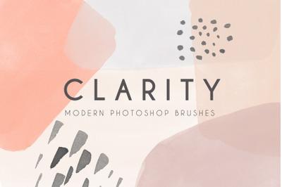 Clarity - Modern Photoshop Brushes