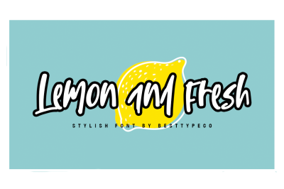 Lemon and Fresh