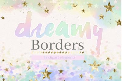 Dreamy Pastel Borders