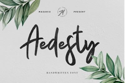 Aedesty - Handwritten