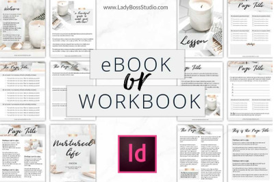 InDesign Nurtured Life eBook Templates