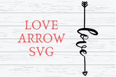 Love Arrow SVG|Love Arrow SVG For Cricut