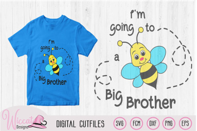 Bee Big brother announcement, boys shirt s