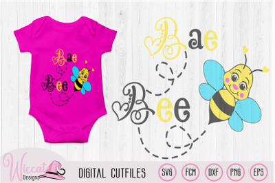 Bumblebee baby svg, Bee Baby girl