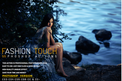 55 Fashion Touch Photoshop Actions