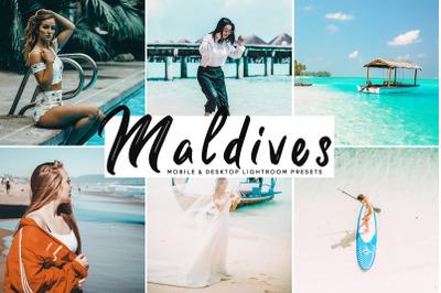 Maldives Mobile & Desktop Lightroom Presets