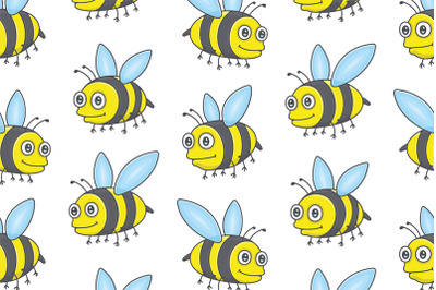 Set of Bees and Pattern