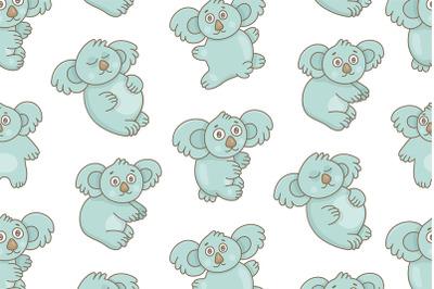 Set of Koalas and Pattern
