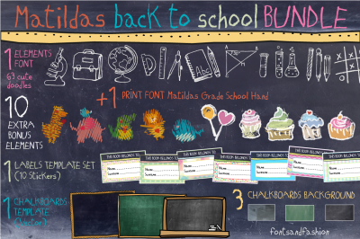Matildas Back To School_Bundle