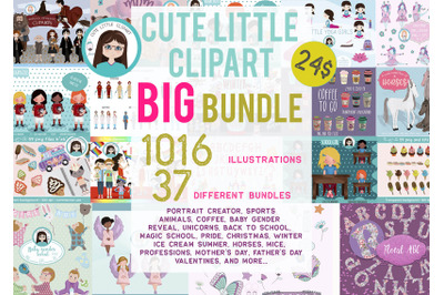 Big Cliparts Bundle