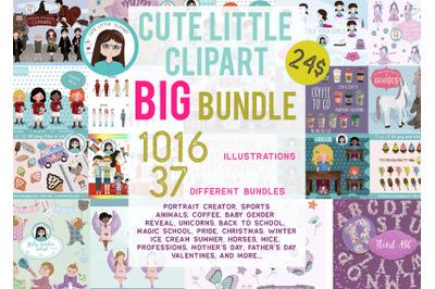 Big Cliparts Bundle