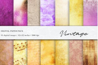 Vintage Digital Papers, Patterns