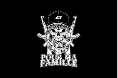 LA FAMILIA GANGSTER TEES DESIGN