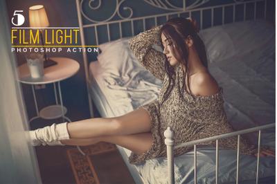5 Film Light Photoshop Actions