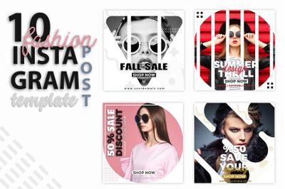 Instagram Post Templates - Fashion