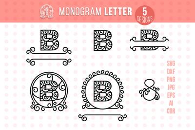 Monogram Letter B