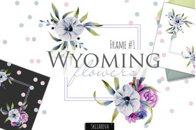 Wyoming flowers. Frame #1