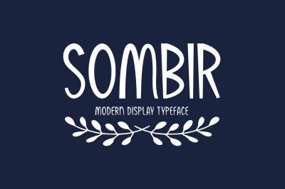 Sombir Typeface