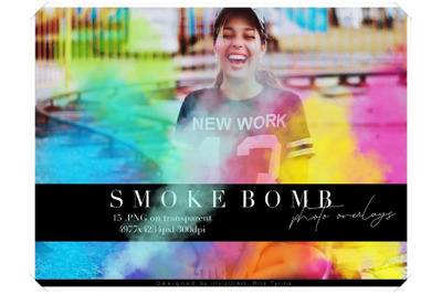 Smoke Photo Overlays - Colorful Smoke Clipart