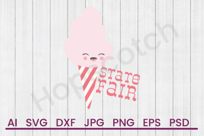 State Fair Cotton Candy - SVG File, DXF File