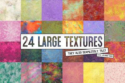 24 Large Seamless Tiling Textures