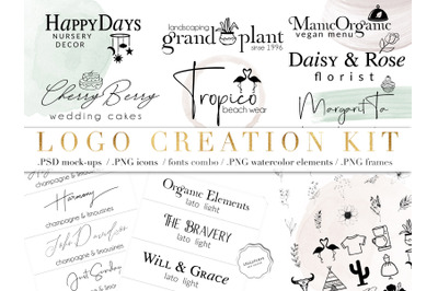 Logo Creator Kit - DIY LOGO