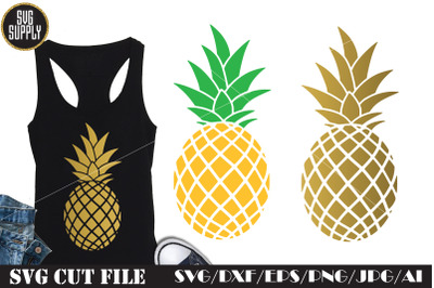 Pineapple SVG Cut File