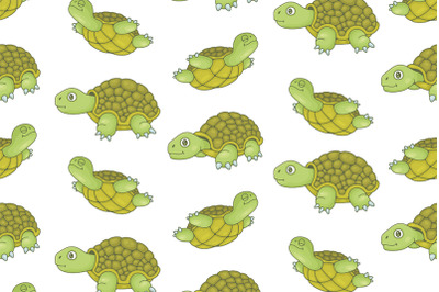 Set of Turtles and Pattern