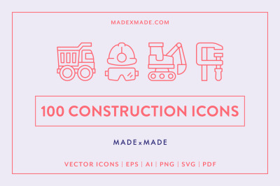 Line Icons  Construction
