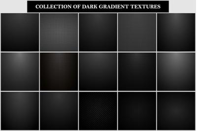 Dark gradient vector backgrounds