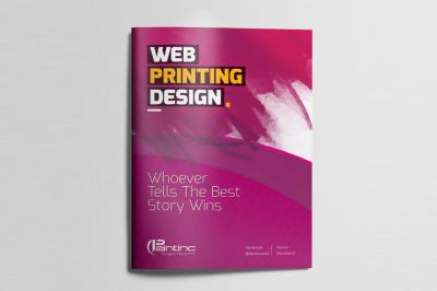 Web Print Bifold Brochure