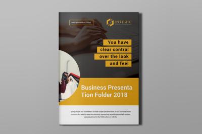 Clean Bifold Brochure