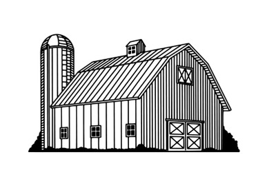 Traditional Barn Icon
