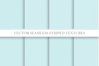 Delicate seamless striped patterns