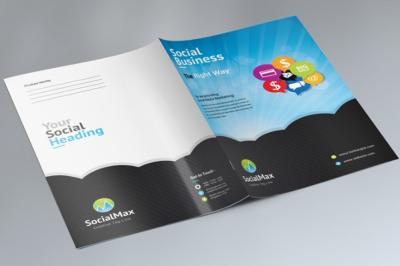 Social Media Presentation Folder.