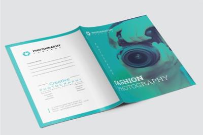 Fashion Photography Presentation Folder