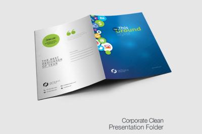 Business Presentation Folder.