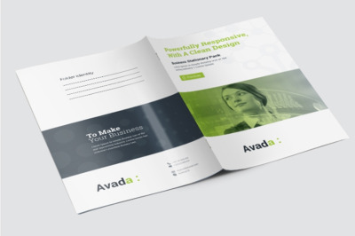 Avada Business Presentation Folder