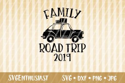 Family road trip 2019