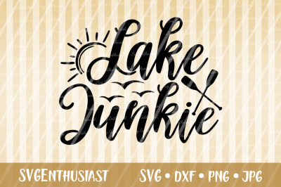 Lake Junkie SVG cut file