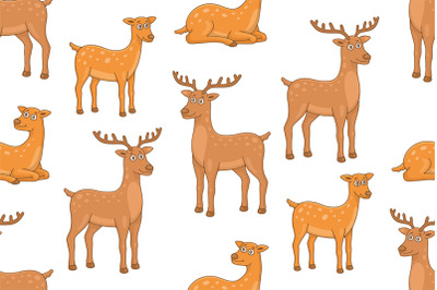 Set of Deers and Pattern